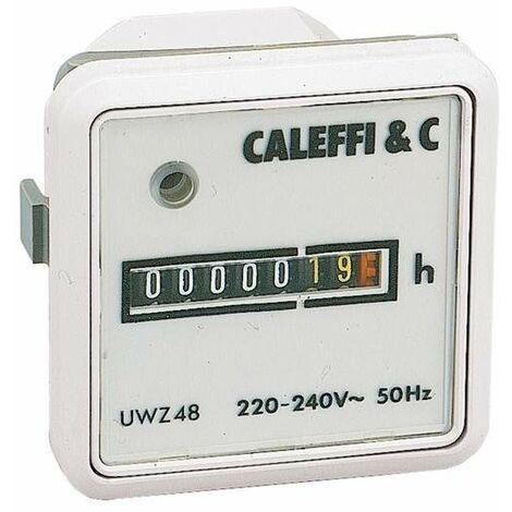 Compteur horaire à 5 chiffres Caleffi 627002