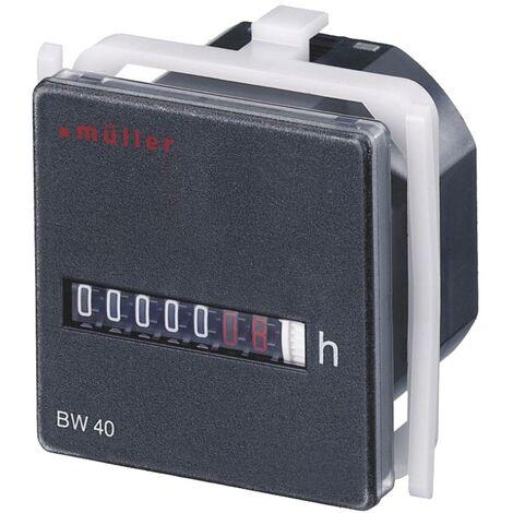 Compteur horaire Müller BW4018 24V 50Hz 20453 1 pc(s)