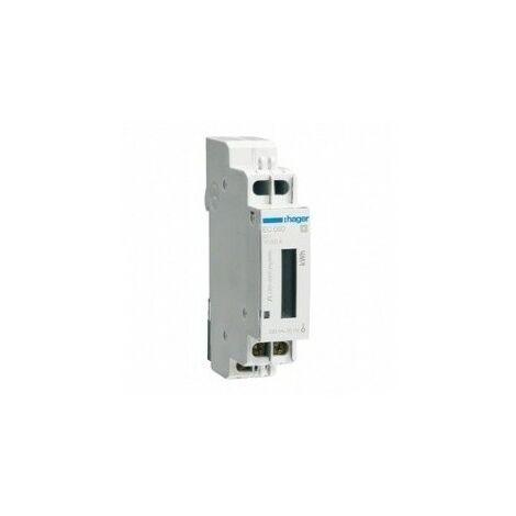 Compteur monophasé direct - 32A - sans émetteur d'impulsion