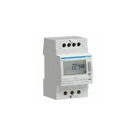 Compteur monophasé direct - 63A - sans émetteur d'impulsion