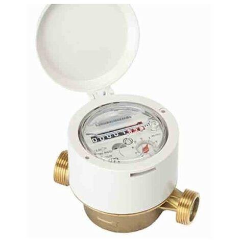 Compteur résidentiel 15mm R160 jet simple eau froide