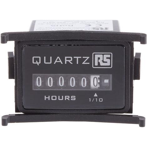 Compteur RS PRO Mécanique, 4 digits,