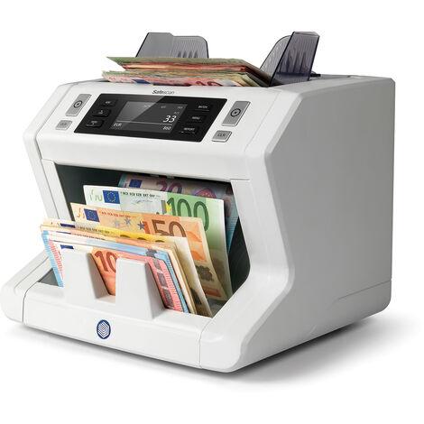 Compteuse de billets de haute technologie Safescan 2685-s pour les gros volumes avec Sowftare Libre MCS à 1500 billets par minute