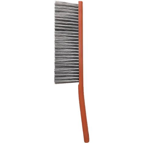 Comptoir Duster Longue Poignee Draps Debris Brosse De Nettoyage A Poils Doux Brosse A Epousseter Epilateur Chiffon Pour Contre Travail Du Bois Jardinage Meubles, Rouge