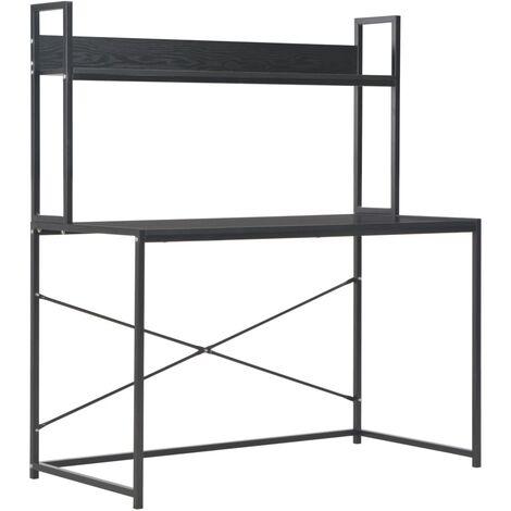 Computer Desk Black 120x60x138 cm
