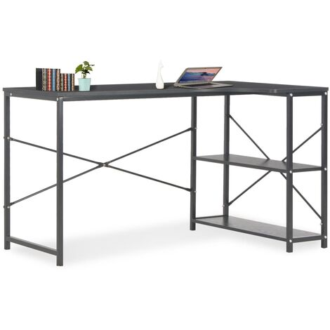 Computer Desk Black 120x72x70 cm