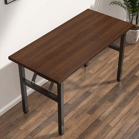 Computer Desk Student Study PC Laptop Storage Table Office Workstation brown 100cm*63cm*73.5cm