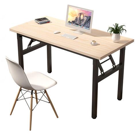 Computer Desk Student Study PC Laptop Storage Table Office Workstation White 100cm*63cm*73.5cm