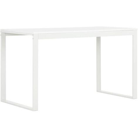 Computer Desk White 120x60x73 cm