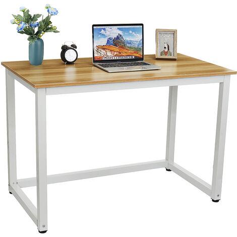 Computertisch Computertisch Schreibtisch Workstation 110x60x74CM Schwarz