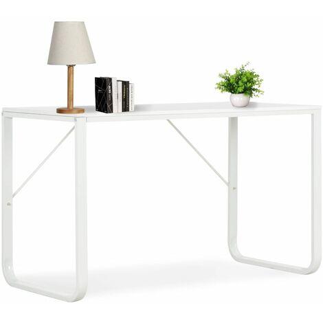 Computertisch Weiß 120 x 60 x 73 cm