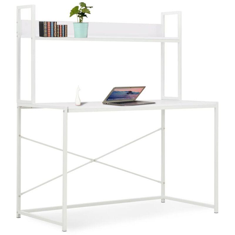 Zqyrlar - Computertisch Weiß 120×60×138 cm