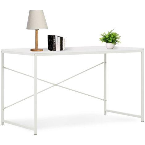 Computertisch Weiß 120×60×70 cm