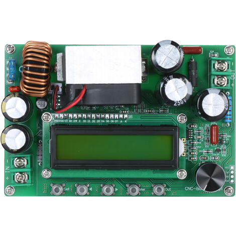 Comunicacion MPPT Boost Buck convertidor de 800W 10-65V a 12-120V Digital Display LCD automatico Step Up Buck Boost Junta ajustable modulo de alimentacion del convertidor