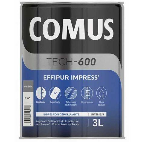 Comus Effipur impress : sous-couche dépolluante destinée améliorer la qualité de l'air intérieur - Recommandée avec les peintures Effipur mat ou velours