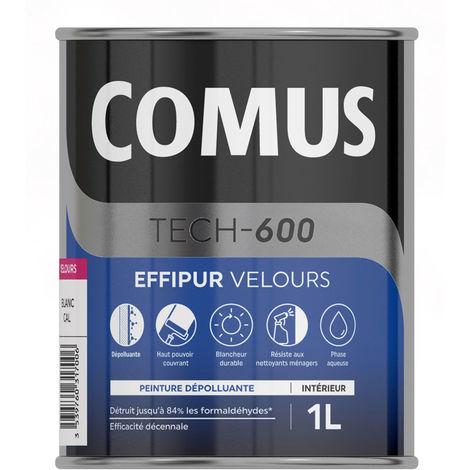 Comus Effipur velours : peinture dépolluante mur et plafond pour améliorer la qualité de l'air intérieur
