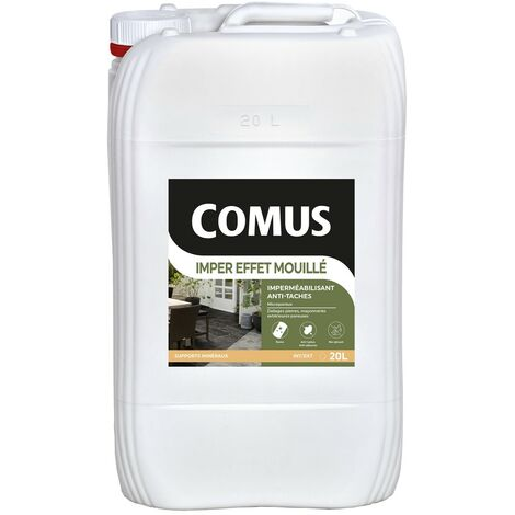 COMUS IMPER EFFET MOUILLE 20L - Protection hydrofuge et oléofuge - COMUS - incolore