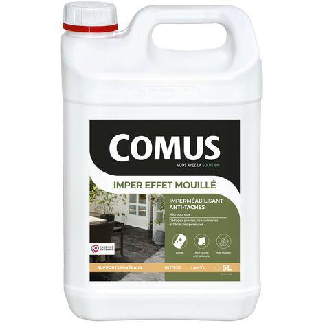 "main image of ""COMUS IMPER EFFET MOUILLE 5L - Protection hydrofuge et oléofuge - COMUS - incolore"""