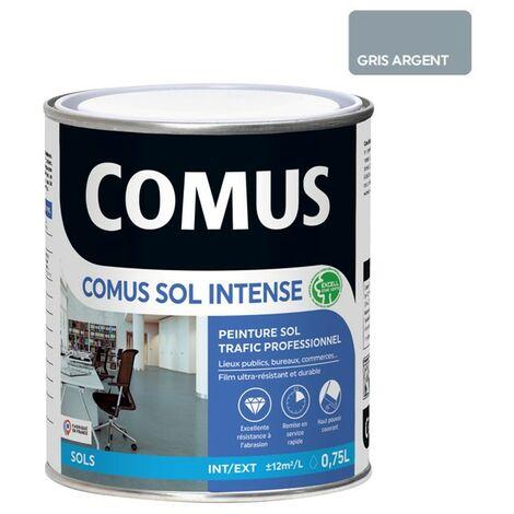 COMUS SOL INTENSE GRIS ARGENT 0,75L Peinture sols intérieurs et extérieurs, trafic intense/professionnel