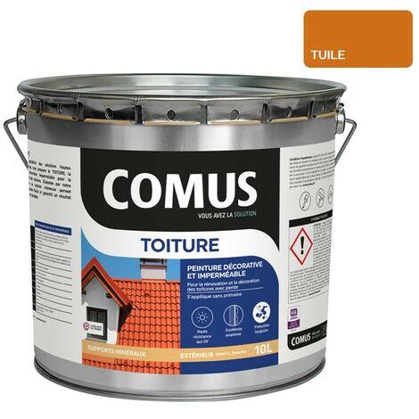 """main image of """"COMUS TOITURE - Tuile 10L - Peinture décorative imperméable pour la rénovation des toitures - COMUS"""""""