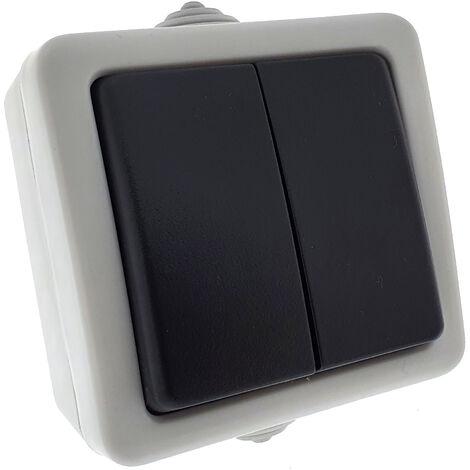 Comutador doble estanco IP54