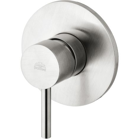 Concealed shower mixer (1 outlet), stainless steel