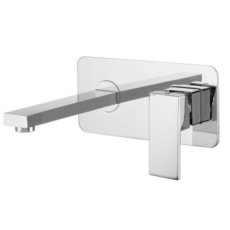 Concealed wall-mounted bathroom washbasin mixer c