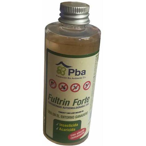Concentrado Autoemulsionable Fultrin Forte para Control de Insectos y Acaros 100 ml