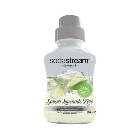 Concentrate SODASTREAM Lemonade zero 500 ml - 30078075