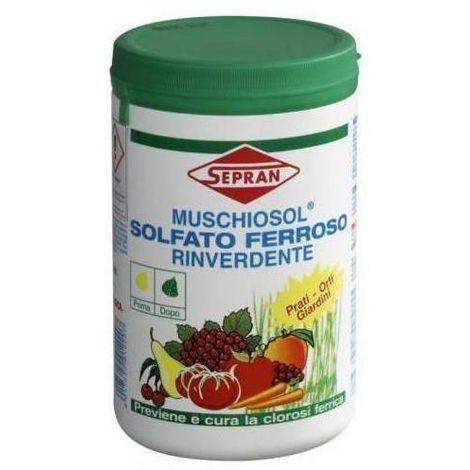 Concime bio Solfato Ferroso - Muschiosol Sepran [1 kg]