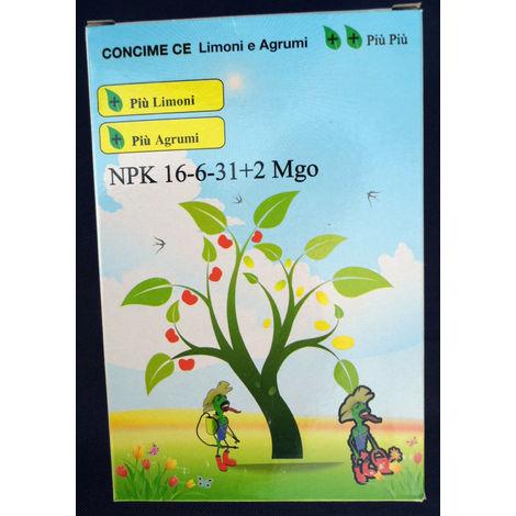 Concime CE limoni e agrumi giardino vasi piante fiori 16-6-31 kg 1