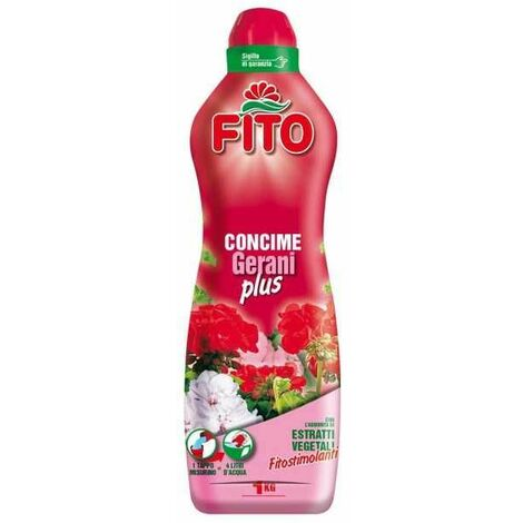 CONCIME GERANI PLUS LIQUIDO kg 1 FITO