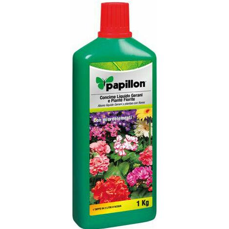 Concime Liquido Papillon Gerani e Piante Fiorite - Piante Acidofile Piante Verdi