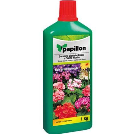 Concime Liquido Per Gerani E Piante Fiorite 1Kg Papillon