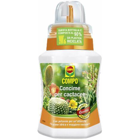 Concime liquido per piante e giardini fertilizzante compo (concime per cactacee 250 ml)