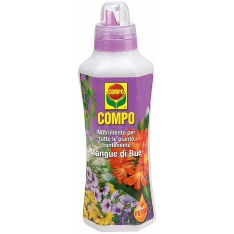 Concime liquido per piante e giardini fertilizzante compo (sangue di bue 1 lt)