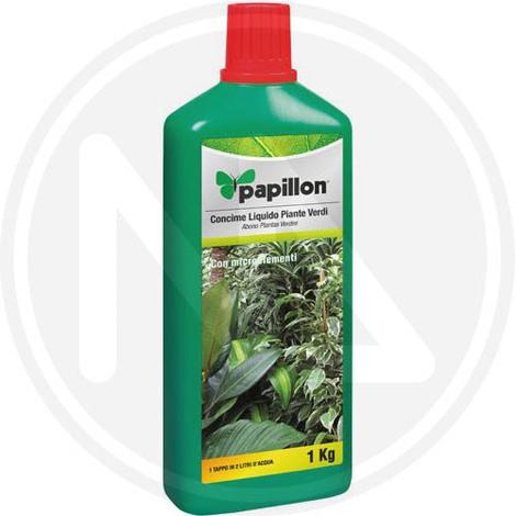 CONCIME LIQUIDO per PIANTE VERDI Fogliari 1 kg PAPILLON