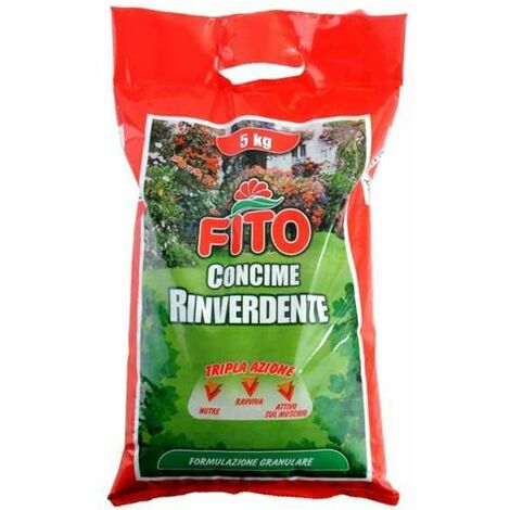 Concime Prato Rinverdente Granulare Kg 5 Fito