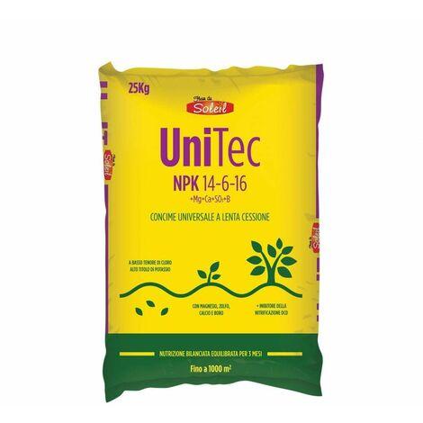 Concime Unitec NPK 14-6-16 - 25 kg - Fleur du Soleil