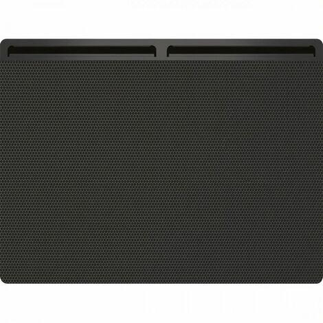 CONCORDE AMBRE C690193 - Panneau rayonnant SAS - Horizontal 1000W - Coloris Gris - Fabrication Française - Programmation incluse
