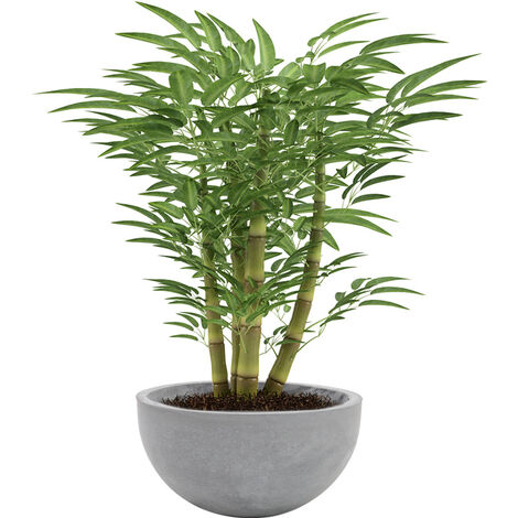 Concrete Plant Flower Pot With Drainage Hole Garden Patio Balcony Planter Pot
