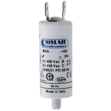 Condensador Arranque Motor 4Mf/5% 5.5X2.5Cm - NEOFERR