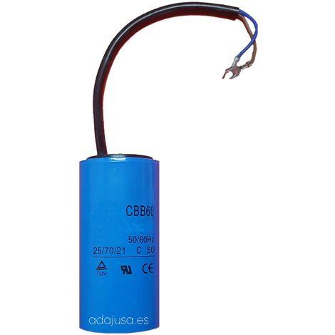 Condensador de arranque 400uF 250Vac