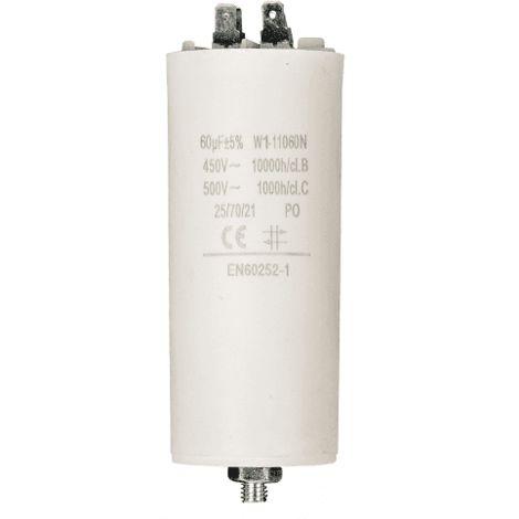 """main image of """"Condensador de arranque para motor electrico 60.0 uF 450 VAC Blanco"""""""