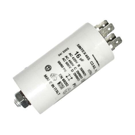 Condensador para aplicaciones especiales con cable 4 CN (uF)