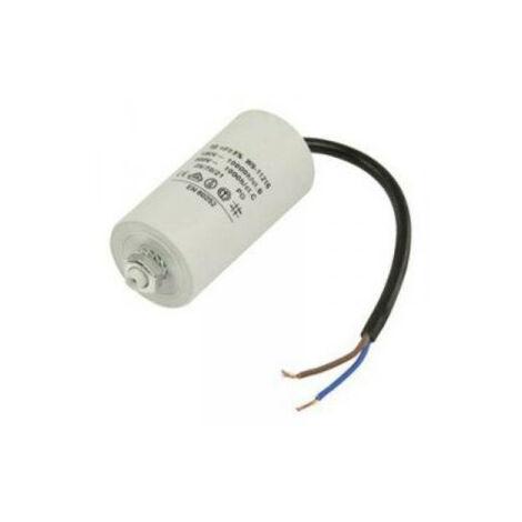Condensador Trabajo Motor 4uF 450Vac 40x70mm Con CABLES 12AG121