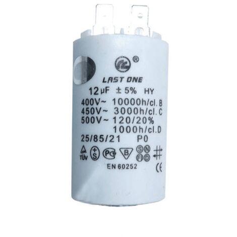 Condensateur 12µf 66612340 Pour NETTOYEUR HAUTE-PRESSION