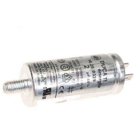 Condensateur 2 µf 425 V 386600151 Pour CLIMATISEUR