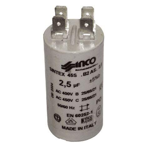 Condensateur 2.5µf 450 V 32X2203 Pour LAVE VAISSELLE