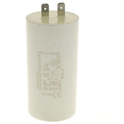 Condensateur 25µf 450v pour Nettoyeur haute pression Karcher